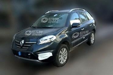 Renault Koleos restylé une deuxième fois