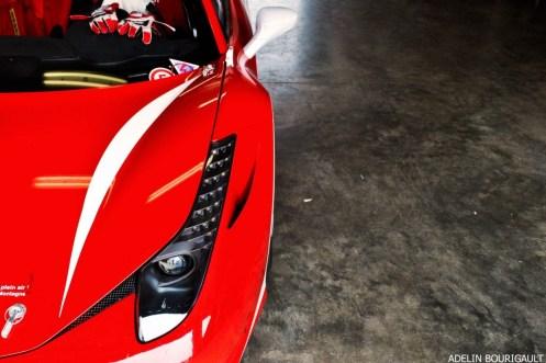AB Ferrari 458 Italia détail