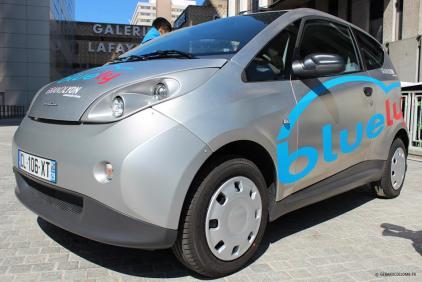 Bluecar lyon