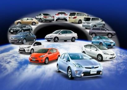 5 millions de toyota et de Lexus hybrides