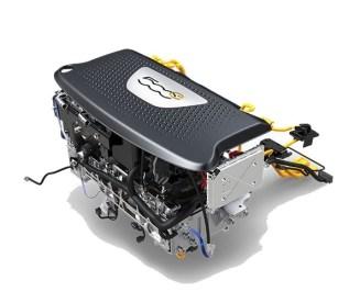 Fiat 500e moteur