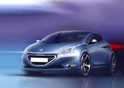 Sketchs Peugeot 208 (3)