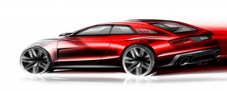 Audi Quattro concept 600 ch