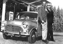 Enzo Ferrari et Sir Alec Issigonis