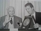 Enzo e Piero Ferrari en 1981