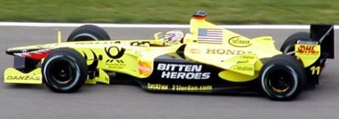 Jordan F1 Indianapolis 2001