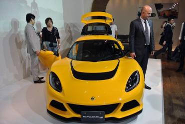 Lancement Lotus Exige S au Japon