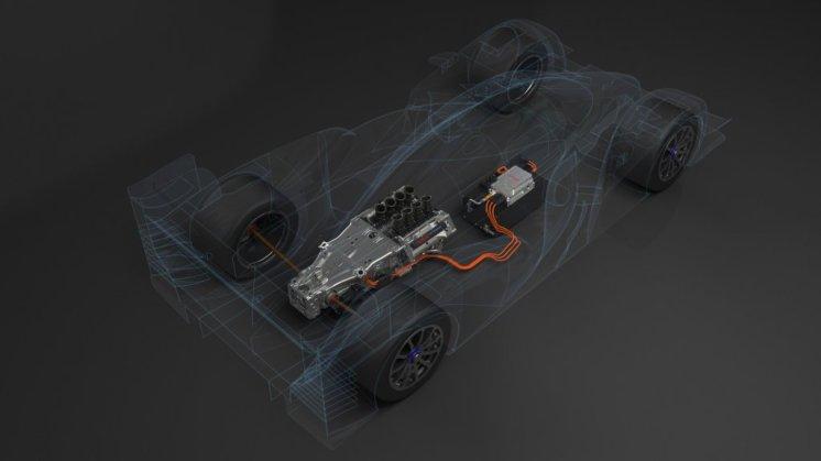 Toyota TS030 Hybrid technologie (2)