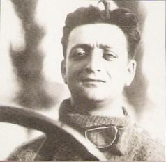 enzo Ferrari au circuit du Mugello en 1921