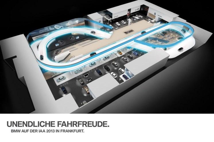 Francfort 2013 Stand BMW