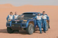 Saby Kleinshmidt VW RaceTouareg