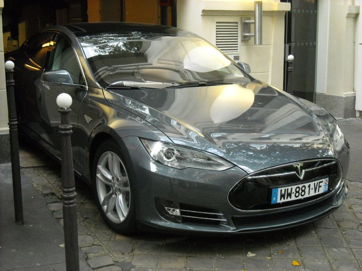 TESLA Model S Paris Septembre 2013 (58)