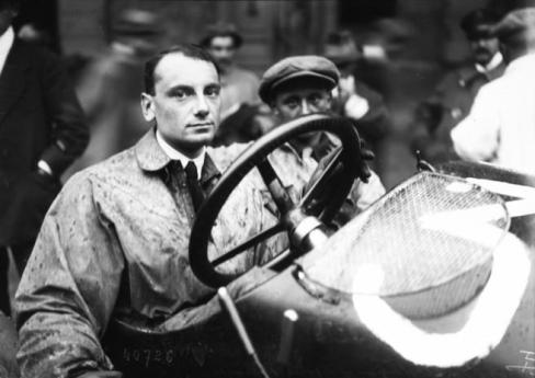 Meo Constantini au GP de France 1914