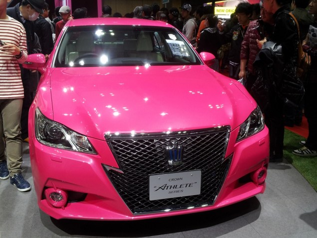 Toyota Pink Crown Athlete