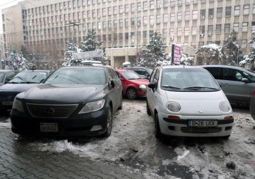 Daewoo Matiz & Californian Lexus