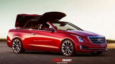 Cadillac ATS Cabriolet par X-Tomi Design