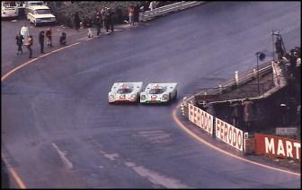 Départ 1000 km de Spa 1970