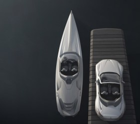 Peugeot design lab Yacht SR1