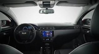 World Premiere Qoros 3 Hatch - dashboard