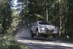 Hyundai i20 WRC testing ©Hyundai Motorsport