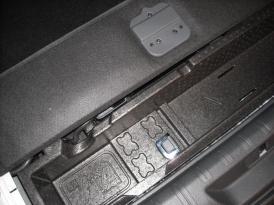 Détails coffre Peugeot 308 SW