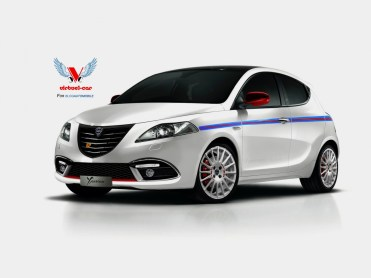 Lancia Ypsilon HF Martini Racing Edition Avant par Khalil B pour blogautomobile