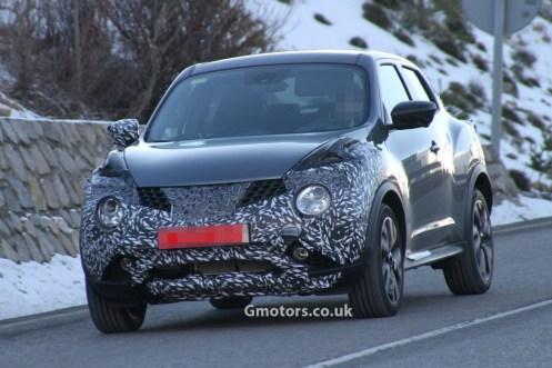 Nissan Juke Spyshots restylé 2014 (5)