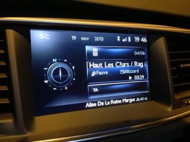 Peugeot 508 RXH W24 Infotainment 03