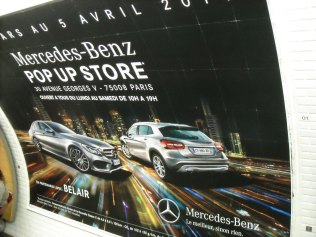 Mercedes Pop Up Store 2014 George V (1)