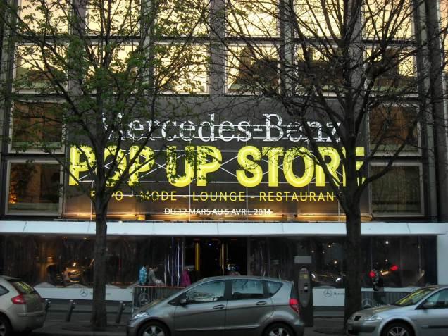 Mercedes Pop Up Store 2014 George V (4)