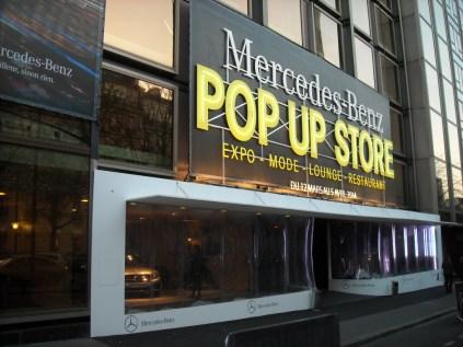 Mercedes Pop Up Store 2014 George V (5)