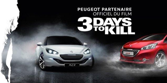 Peugeot Three Days to Kill