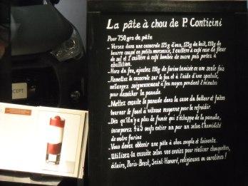 Recette Choux P