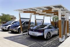 BMW abris solaire