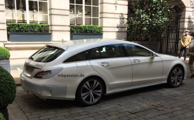 Mercedes CLS facelift shooting brake
