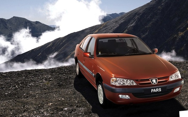 Peugeot 405 Pars Iran