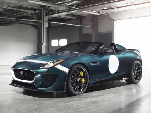 Jaguar F-Type Project 7.4