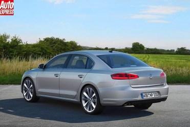 VW Passat 2015 par AutoExpress.2