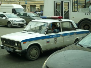 Lada Police Russe