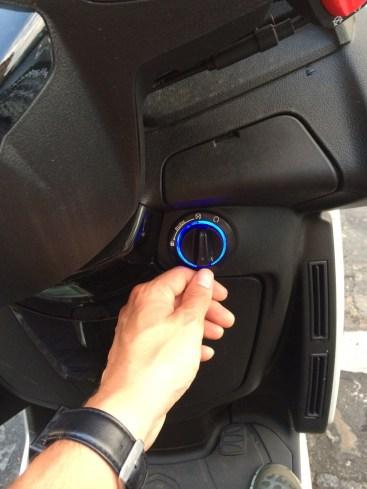 Peugeot Metropolis Keyless