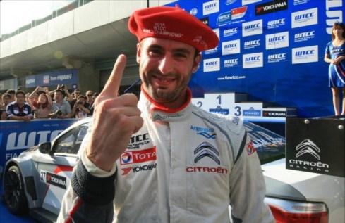 Citroën champion WTCC 2014.9