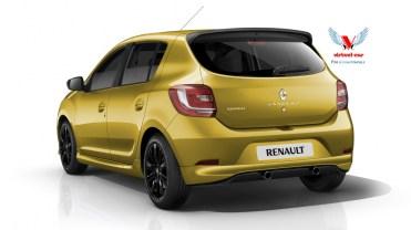 Renault-Sandero-Sport-Jaune Arrière
