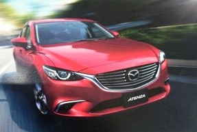 Mazda 6 ou Atenza 2015 restylée