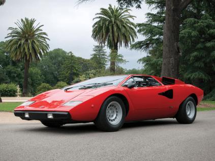Lamborghini Countach LP400 'Periscopio' - Vente RM Auctions Paris 2015
