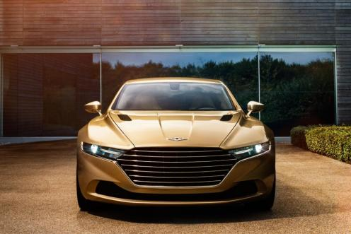 Lagonda face bronze