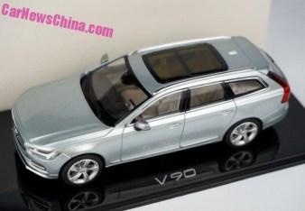 Volvo V90 modellbil