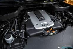 Essai Infiniti QX70 S 3.7 Ultimate - Moteur