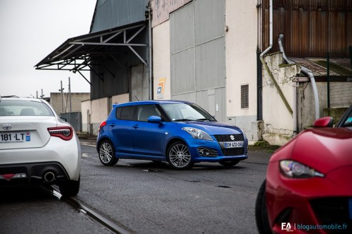 Essai Suzuki Swift Sport