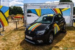 Sandero Stepway Edition limitée - Pop Art - Pique-nique Dacia 2017