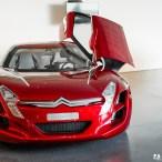 Visite Usine PSA - Vélizy (ADN) - Concept Citroën C-Métisse
